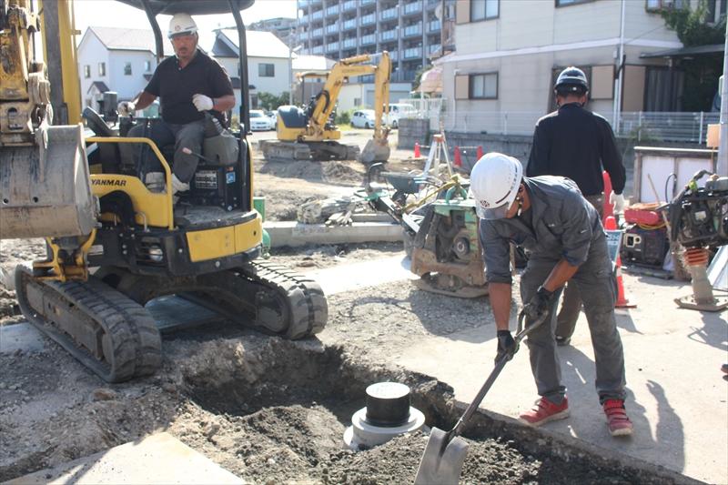 管工事(水道・ガス・下水)・土木工事は大津市の岡工業株式会社へ!